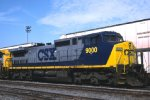 CSXT 9000 C44-9W Class Unit